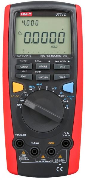 Multimetru digital UT71C UNI-T 0