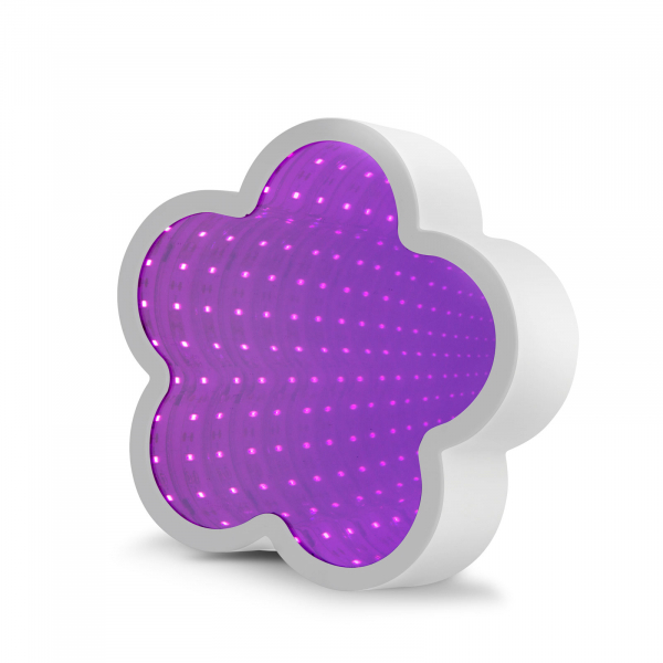 Oglindă magică LED - model floare 0