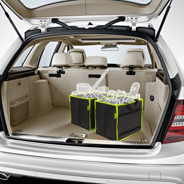 set organizator portbagaj auto - 2 buc. 25 x 30 x 30 cm 1