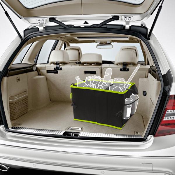 Organizator auto pentru portbagaj cu 2 compartimente 36 x 30 x 25 cm 1