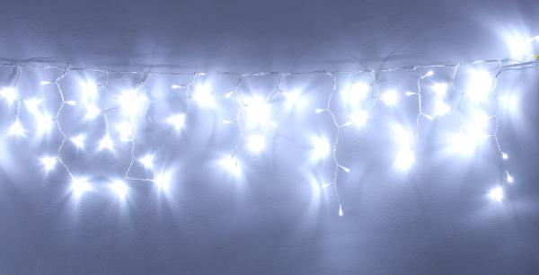 Perdea luminoasa tip turturi 240 LED-uri albe lumina rece interconectabila WELL 0