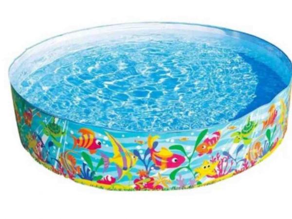 Piscina pentru copii INTEX Ocean Play Snapset™ Pool 183x38 cm cod 56452 0
