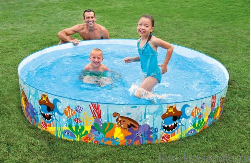 Piscina pentru copii INTEX Ocean Reef Snapset™ Pool 244 x 46cm 58472 0