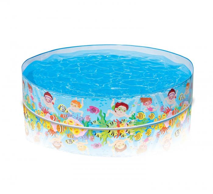 Piscina pentru copii INTEX Snorkel Buddies Snapset™ Pool 152x25 cm 56451 [0]