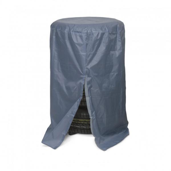 Prelată husa de protectie pentru set de roti auto - gri 0