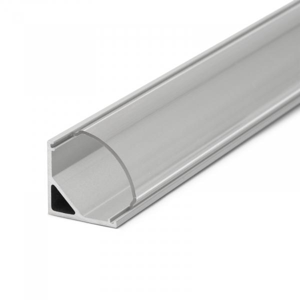 Profil  din aluminiu benzi LED 1000x16x16mm - rotunjit 2