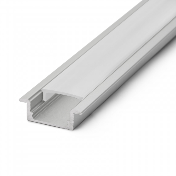 Profil din aluminiu pentru benzi LED 2000x23x8mm 3