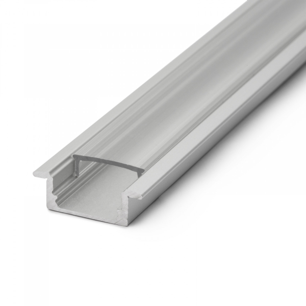 Profil din aluminiu pentru benzi LED 2000x23x8mm 2