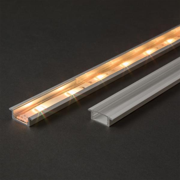 Profil din aluminiu pentru benzi LED 2000x23x8mm 1
