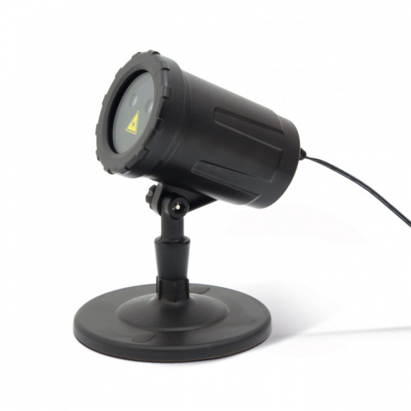 Proiector decorativ laser - cu tarus, verde/rosu - IP44 - 240V [1]