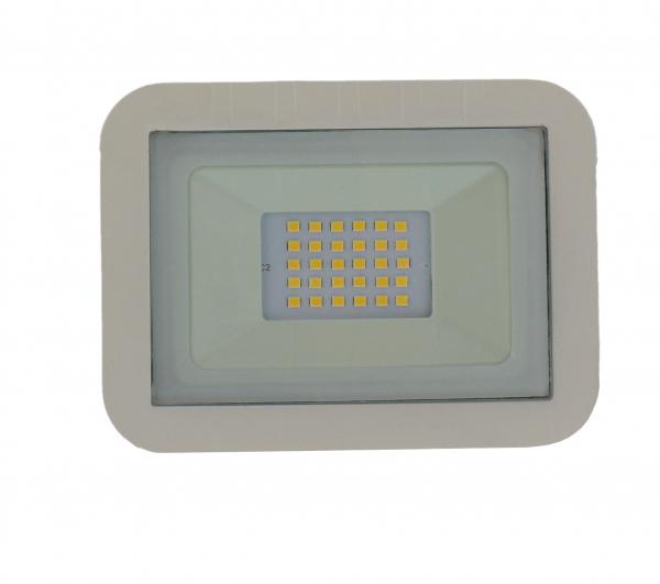 Proiector LED 20W 1600lm IP65 4000K alb Well [0]