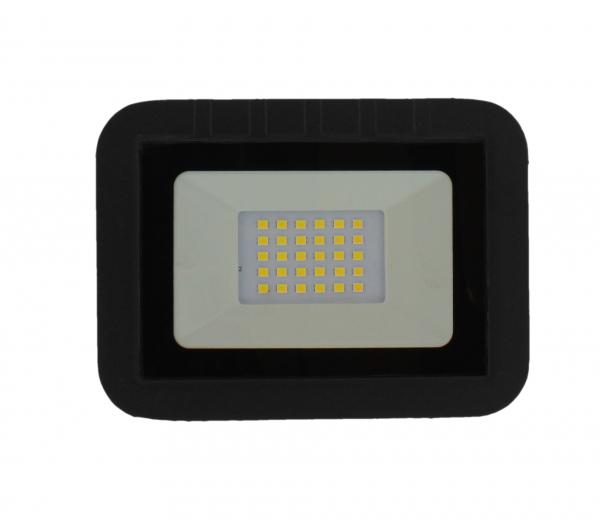 Proiector LED 20W 1600lm IP65 4000K negru Well 0