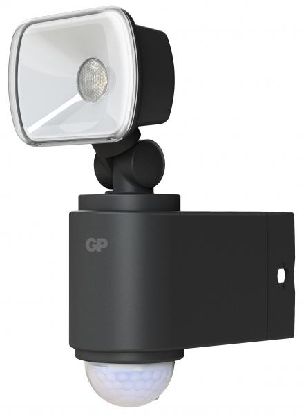Proiector LED GP Safeguard 1.1 cu baterie si senzor miscare 1x LED 0