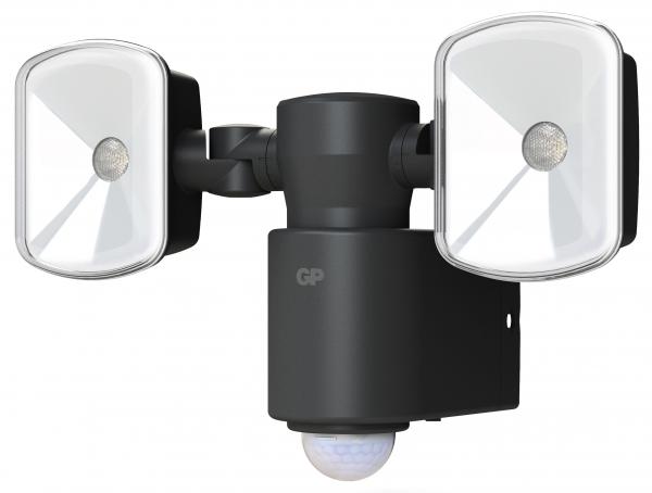 Proiector LED GP Safeguard 4.1 cu baterie si sensor miscare 2x LED 0
