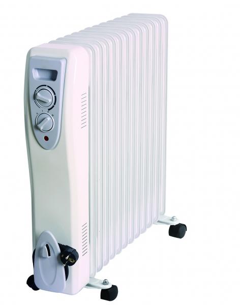 Radiator electric portabil cu ulei 13 elementi 3000W Well 0