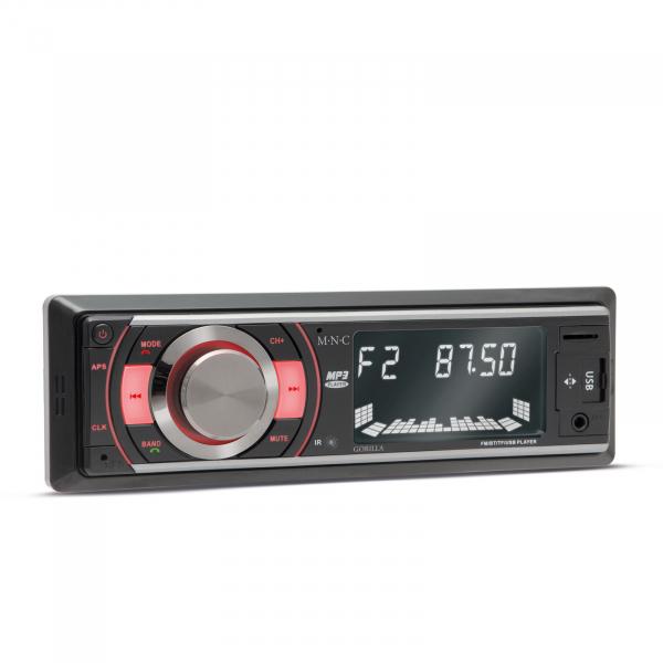 Radio player auto Gorilla - cu USB / SD card / AUX / Bluetooth si telecomanda 2