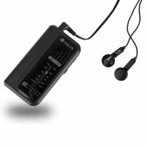 Radio portabil AM/FM negru NGS [1]