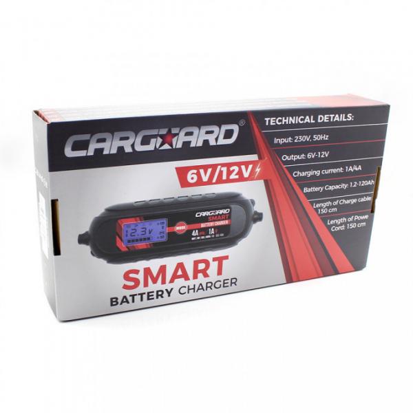 Incarcator redresor baterie auto cu display 6V 12 V 5