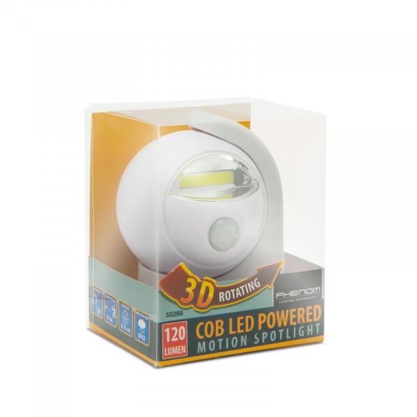 Reflector cu COB-LED, si senzor de miscare si lumina [2]