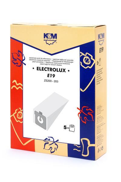 Sac aspirator Electrolux  hartie, 5X saci, K&M [0]