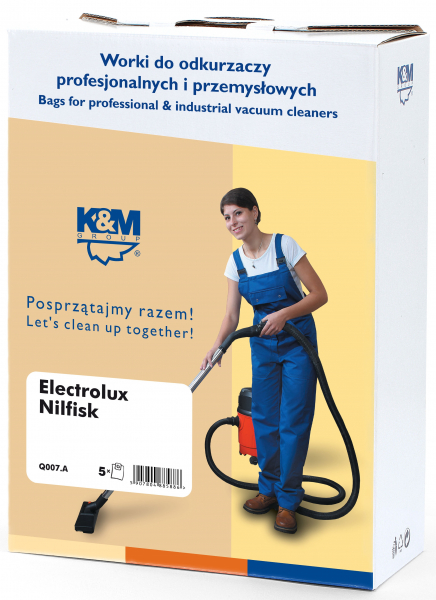 Sac aspirator Electrolux, Nilfisk, hartie, 5X saci, K&M 0