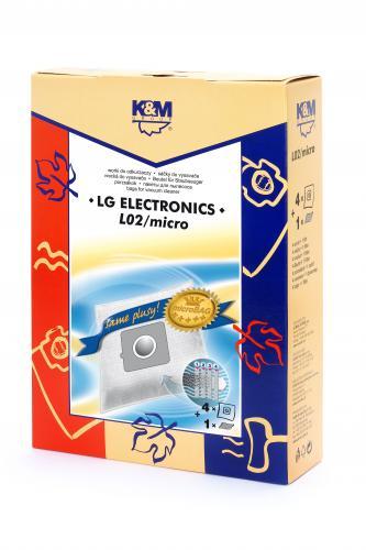 Sac aspirator LG TB-33, sintetic, 4X saci + 1 filtru, K&M [0]