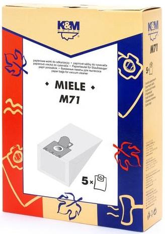 Sac aspirator Miele S 246- S 256, hartie, 5X saci, K&M [0]