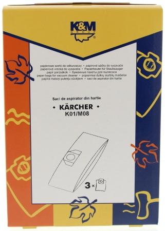 Sac aspirator MOULINEX Q89, hartie, 3X saci, K&M [0]