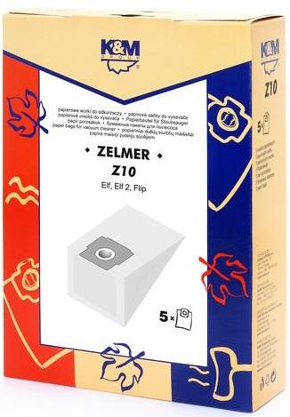 Sac aspirator Zelmer 321, hartie, 5 X saci, K&M [0]