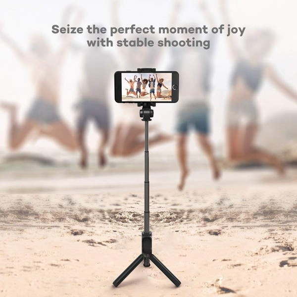 Selfie Stick Tripod VAVA 2 in 1 cu Telecomanda Bluetooth detasabila [5]