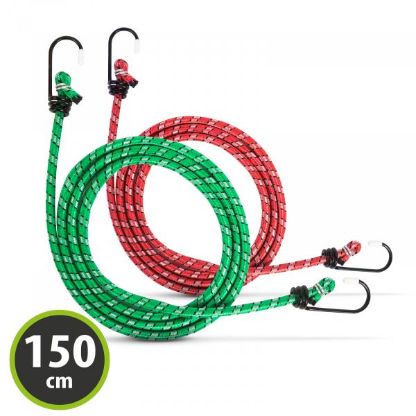 Set cordeline elastice - 2 x 150 cm 1