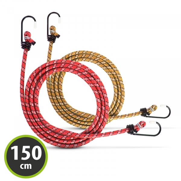 Set cordeline elastice - 2 x 150 cm [0]