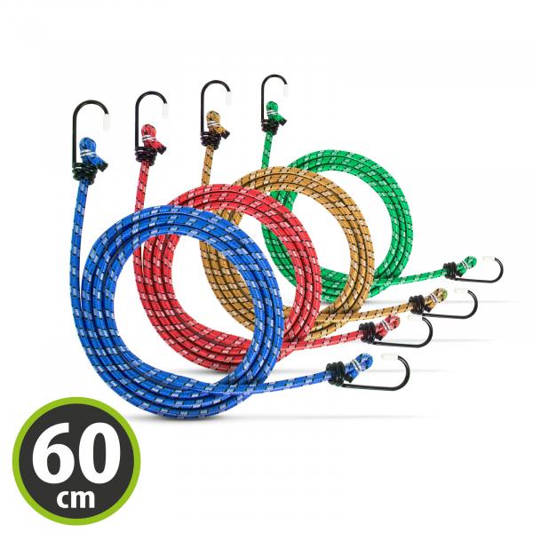 Set cordeline elastice - 4 x 60 cm 0