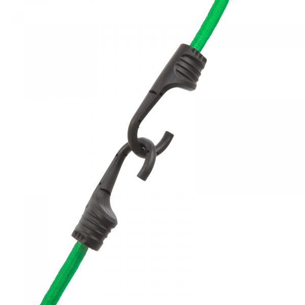 Set de cordeline de fixare, chingi cauciuc profesionale - Verde - 90 cm x 8 mm - 2 buc. / pachet [1]