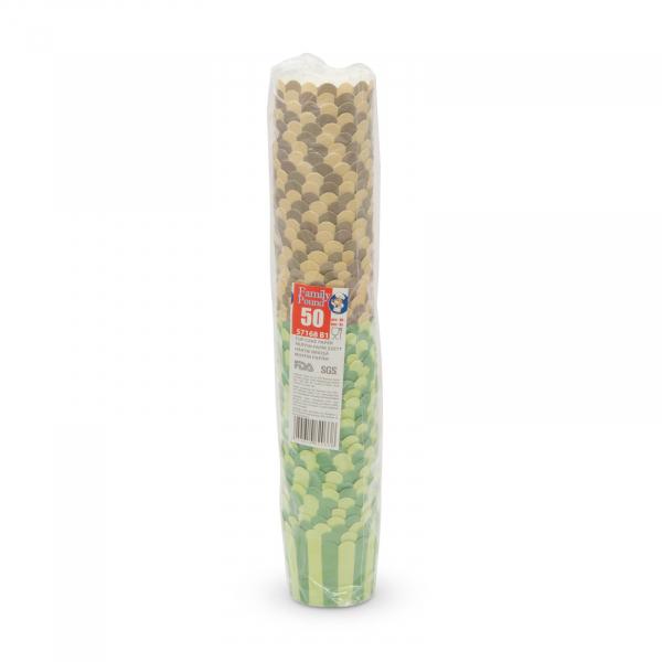 Set gofraje cupe de hârtie pentru briose - muffin 3