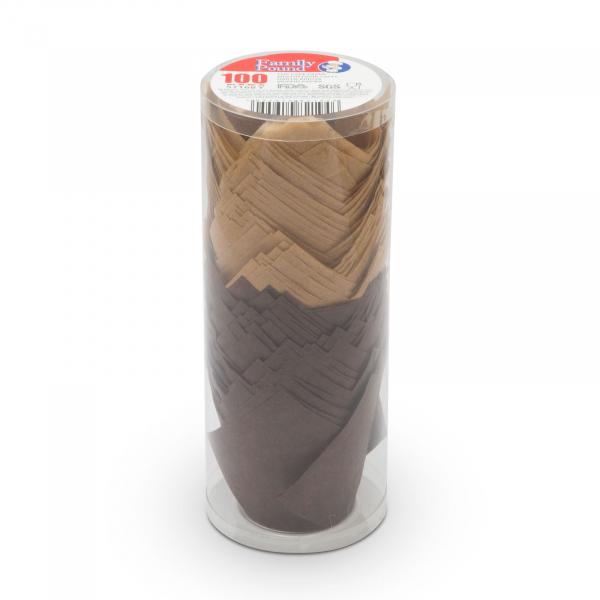 Set gofraje de hirtie pentru briose - model lalea - 100 buc. / pachet 2