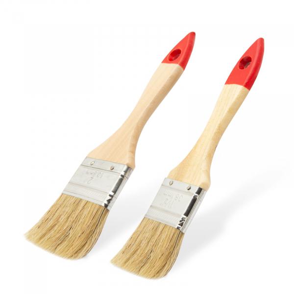 Set pensule, model rotund - mâner lemn - 2 buc./pachet 0