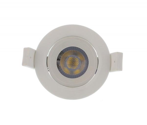 Spot LED incastrabil rotund mobil 3W 60mm 6500K, Well [0]