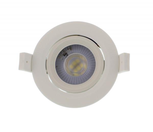 Spot LED incastrabil rotund mobil 5W 75mm 4000K, Well [0]