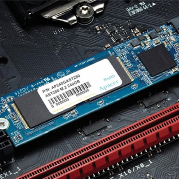 SSD Sata III M.2 240GB AST280 Apacer; Cod EAN: 4712389914101 [0]