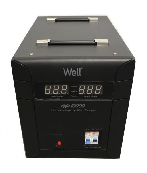 Stabilizator automat de tensiune Agile 10000VA/7000W Well 0