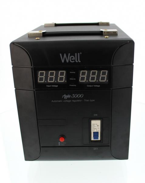 Stabilizator automat de tensiune Agile 3000VA/2100W Well 0