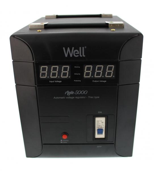 Stabilizator automat de tensiune Agile 5000VA/3500W Well 0