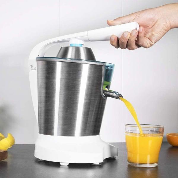 Storcator de citrice Cecotec Zitrus PowerAdjust 600, 600w, Anti picurare, 2 conuri, filtru reglabil [2]