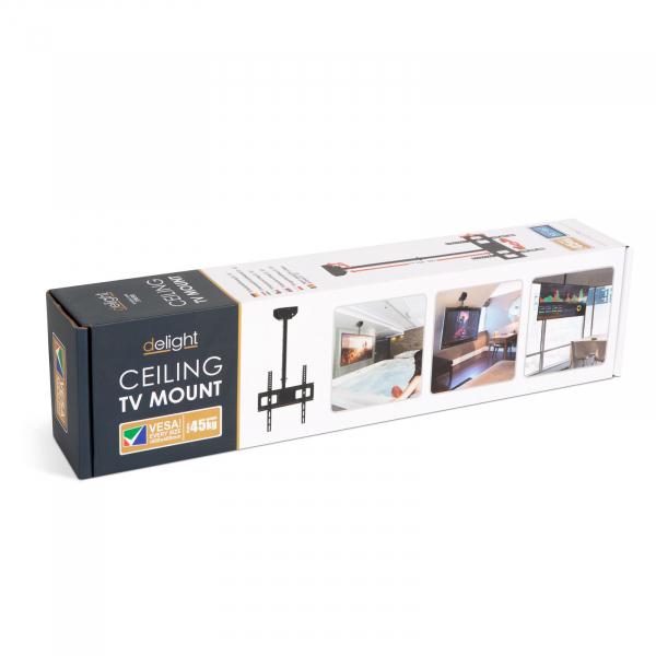 """Suport-consolă TV cu fixare pe tavan 360° - 32""""-65"""" 4"""