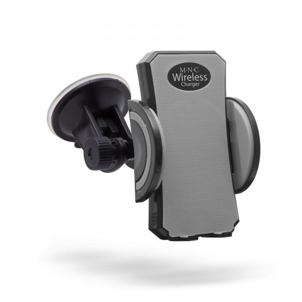 Suport de telefon auto cu încarcare wireless fara fir 1