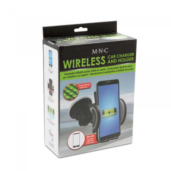 Suport de telefon auto cu încarcare wireless fara fir 5