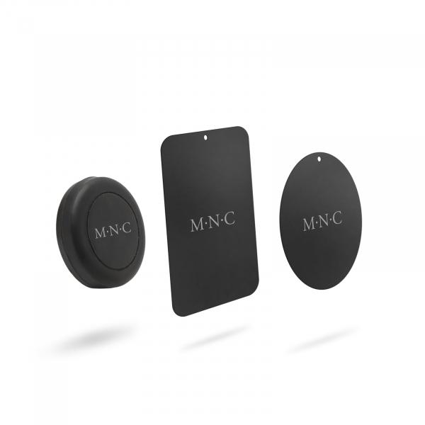 Suport magnetic auto universal pentru telefon sau navigatie - culoare neagra 0