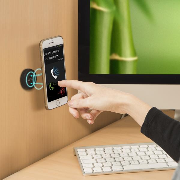 Suport magnetic auto universal pentru telefon sau navigatie - culoare neagra 2