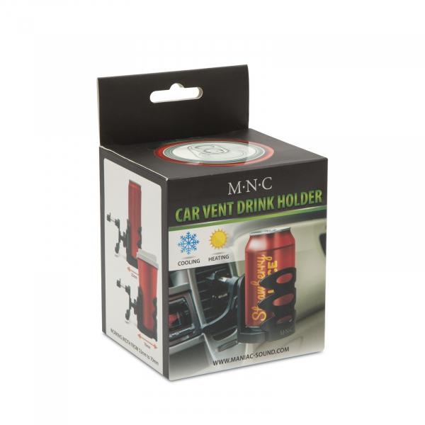 Suport auto pentru doze bautura cu fixare in grila de ventilatie 4